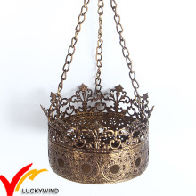 High Quality Crown Metal Tealight Candle Holder