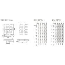 4,0 pulgadas, 10,0 mm DOT (GNM-40571Cx-Dx)