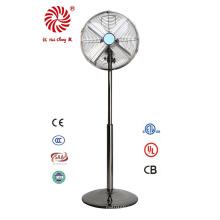 """Антикварный 12 """"электрический вентилятор с металлической подставкой для промышленного использования"""