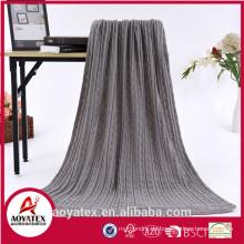 Solid Heizung Wolle Polyester Acryldecke Bulk kaufen aus China