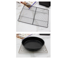 Carbon steel non-stick cooling rack