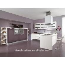 China equipos de cocina industrial PVC Armario / gabinete con isla
