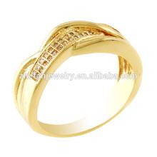 Anel de noivado de ouro 22k