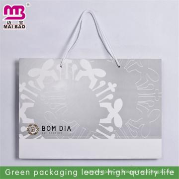 bolsa de papel térmica alternativa de la promoción de la moda de la impresión