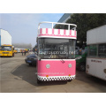 Electric mobile snack food cart