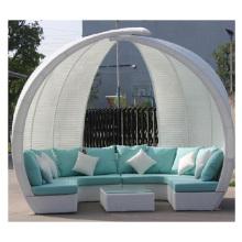2016 Luxury Wicker Furniture Patio Sofa with Cushion (CF1256H)