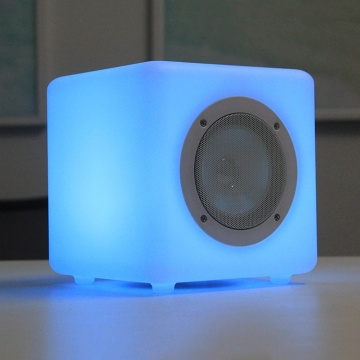 Altavoz Bluetooth portátil inalámbrico inteligente con luz LED colorida