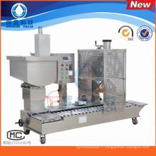 Machine de remplissage semi-automatique avec le recouvrement pour le produit chimique / vernis quotidien