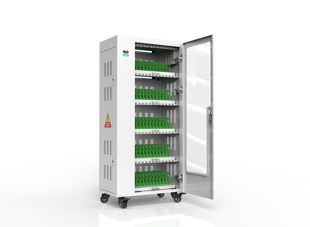 Smart wireless mobile phone cabinets