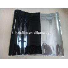 Metallisierte schwarze Mylar Polyesterfolie