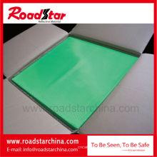 Bunte prismatischen reflektierende PVC-Folie, mit einer Dicke von 0,24 mm