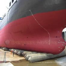 Airbags de levantamento, bolsas a ar flutuantes do navio marinho, lançamento e aterrissar airbags, bolsa a ar marinha para o navio