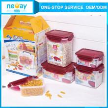 Neway 5 Pieces Plastic Jar
