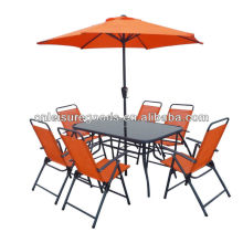 8pcs set sling outdoor furniture