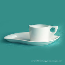Juego de taza de café de porcelana (10CD13595)