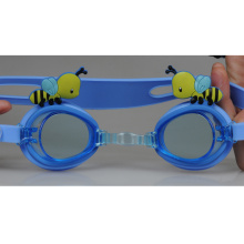 Popular Carton Bee Shape Silicone Swimming Goggles