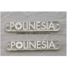 Transparent Rubber Logo for Garment Excellent PVC Rubber 3D Patch/ PVC Force Rubber Patch