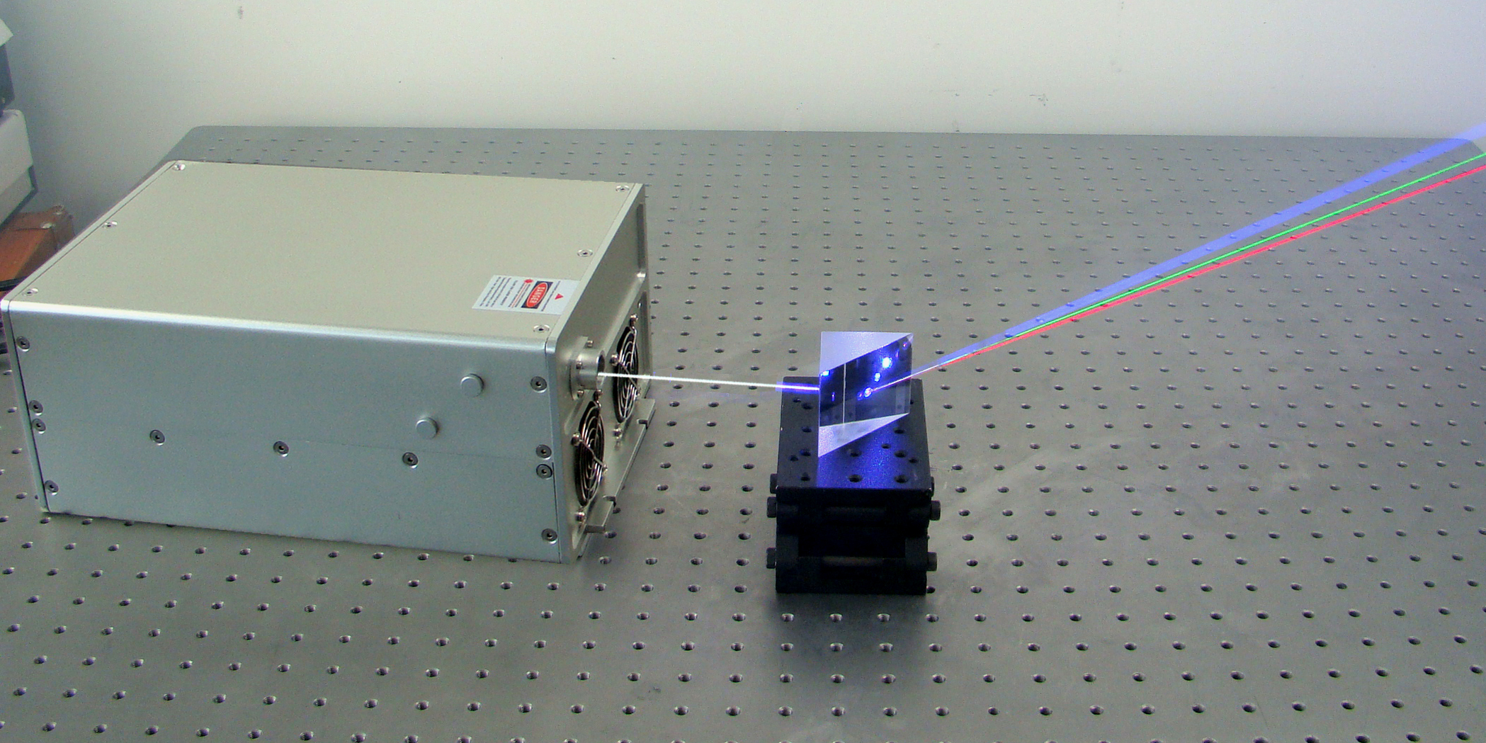 multi-wavelength fibre laser