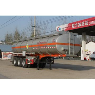 10.6m Tri-axle Chemical Liquid Transport Semi Trailer