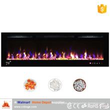 """L'insert de cheminée électrique de flamme décorative de 72 """""""