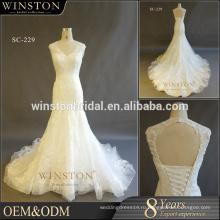 Новый роскошный высокое качество модный свадебные платья
