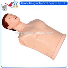 Manequim de CPR com meio corpo da versão simples do ISO