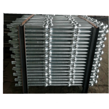 Factory price galvanized handrail pipe stanchions for safe railing