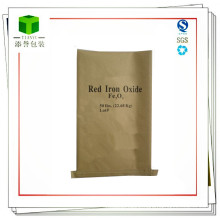Customized Seam Bottom Paper Bag for Iron Oxide Yellow
