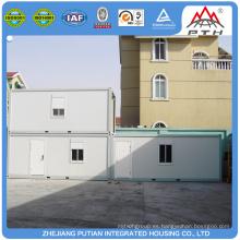 Casas prefabricadas prefabricadas de bajo costo contenedor prefabricado de origen