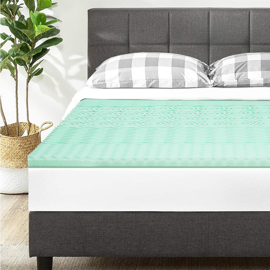 Memory Foam Mattress Topper For King Size Bed