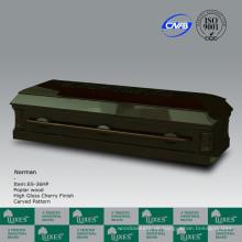 Ausgefallene chinesischen amerikanischen Stil solide Holz Sarg Coffin für Funeral_China Sarg Hersteller