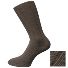 Brown Classic Plain Herren Socken