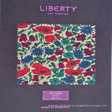 Impressão Digital 100% Algodão Popeline Tecido Têxtil para Camisa dos homens ou Folha de Cama