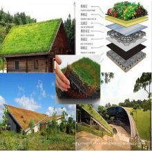 Plastic Dimple Drainage Sheet Used in Green Sloping