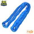 Sling de correa de elevación de poliéster redondo 8T resistente