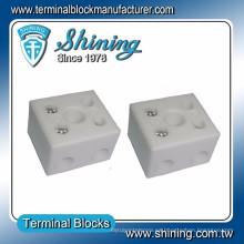 TC-652-A Conector de alambre de vídeo de porcelana de 2 polos resistente al calor 65A