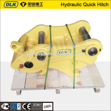hydraulic quick hitch coupler for IHI excavator with safe lock