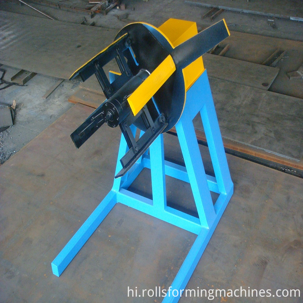 decoiler for Z-Purlin Frame Forming Machinery