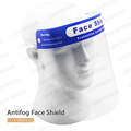 Medical Face Shield Spritzschutz Antifog Mask Clear