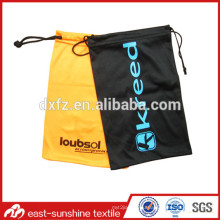 custom printed sunglasses soft pouch case,drawstring soft sunglasses pouch bag