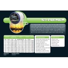 Varios tamaños Cuerda de anclaje N3-Premium / Cuerda de nylon / Cuerda de 3 hilos