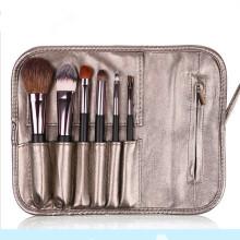 Hot Sale 6PCS Professional Eyeshadow Eyeliner Brush with PU Package