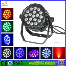 China-Lieferant im Freien RGBW 18 * 10W führte par Licht 4in1 Stadium par Licht