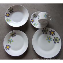 high quality custom printed ceramic dinner set wholesale