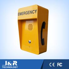Téléphone résistant aux vandales, téléphone analogique / SIP / GSM / 3G, téléphone domestique d'urgence