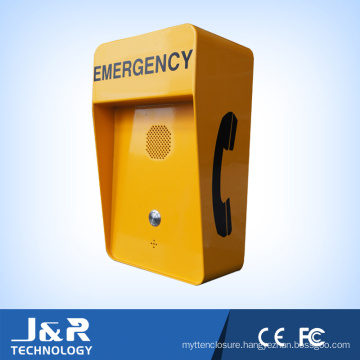 IP Intercom, Weatherproof Outdoor Telephone, Emergency Call Station Call Box