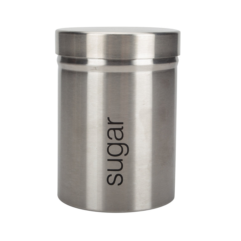 Stainless Steel Sugar Canister