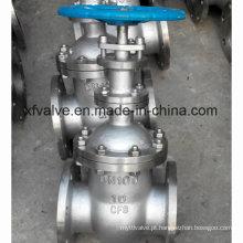 Válvula de Válvula de Haste Não Aumentada em Aço Inoxidável DIN