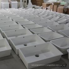 évier de cuisine industrielle en pierre acrylique guangzhou