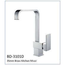 Bd3101d Torneira de cozinha de alavanca de latão de cartucho de 35mm